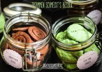 Tea-Time-Cookies treffen auf Schoko-Knöpfchen-Kekse