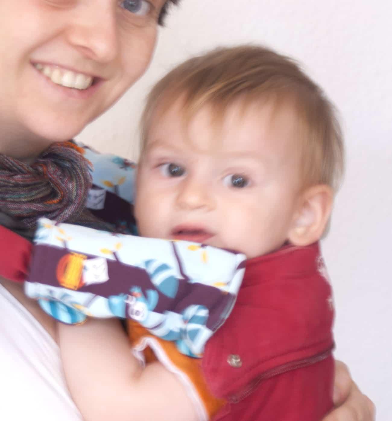 Sabberschutz/Gurtschoner für die Babytrage - Freebie - HANDMADE Kultur