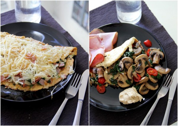 """Einfache Wochenends-Frühstücks Omelets """"2 ways"""""""