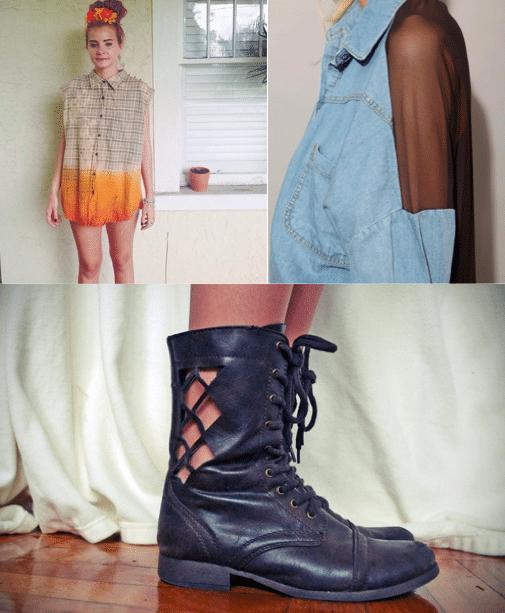 DIY-Inspiration: der Grunge Look