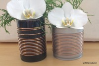 Kupferdosen - Verschönerung von Aludosen