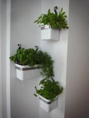 Ikea-Reloaded: Kräutergarten an der Wand