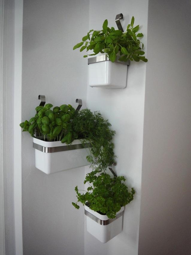 Ikea Reloaded Krutergarten An Der Wand HANDMADE Kultur