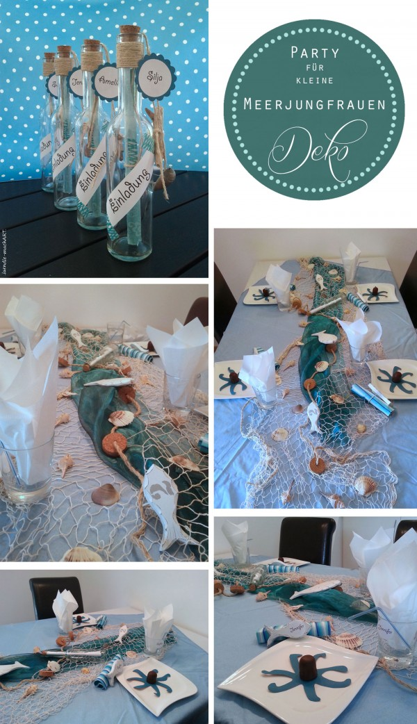 Mermaid-Party | DIY-Ideen