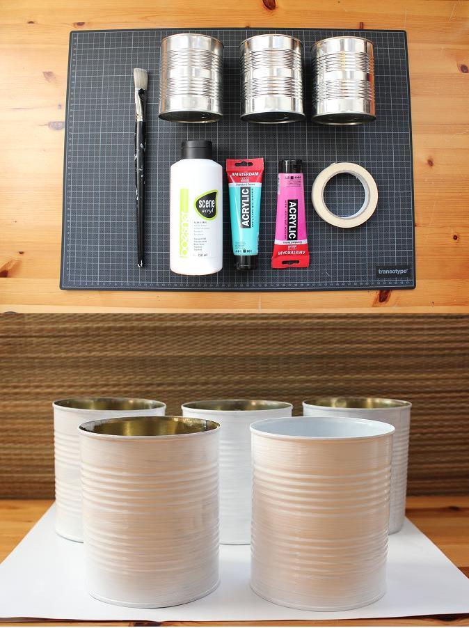 Konservendosen Upcycling Handmade Kultur