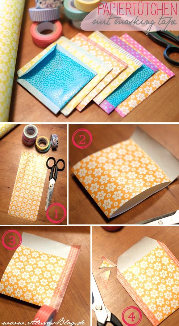 verpack's schöner mit Papiertütchen