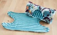 Sabberschutz/Gurtschoner für die Babytrage - Freebie