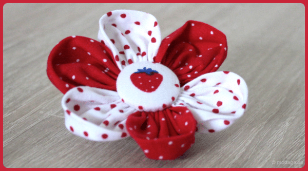 Blütenzauber: Stoffblumen Tutorial
