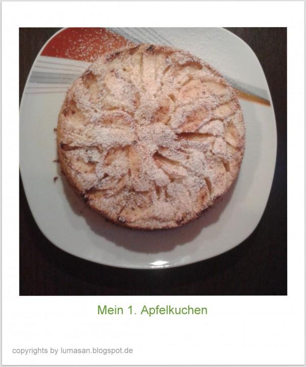 Leckerer Apfelkuchen in nur 5 Schritten!