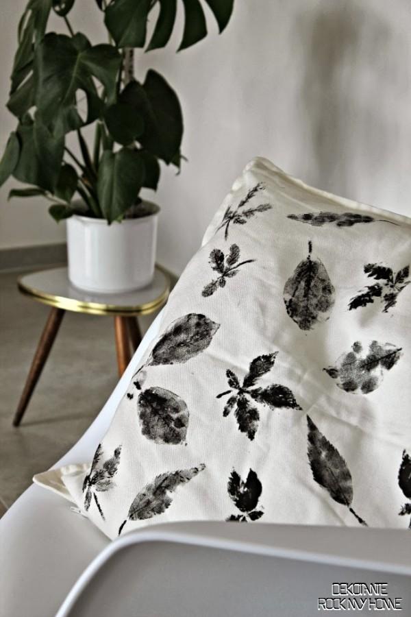 Gut Kissen Bedrucken Mit Blättern