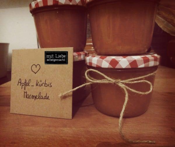 Frühstücksleckerei: Herbstliche Apfel-Kürbis-Marmelade
