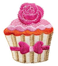 Applikation Cupcake