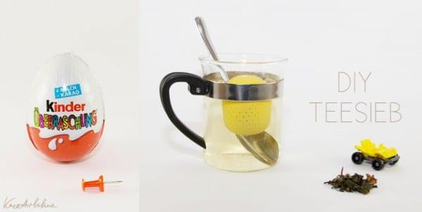 DIY: Vom Ü-Ei zum Teesieb