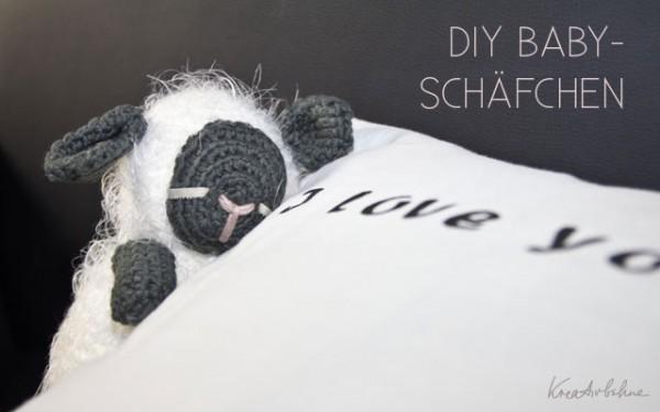 Diy Kuscheltiere Häkeln Süßes Babyschäfchen Handmade Kultur