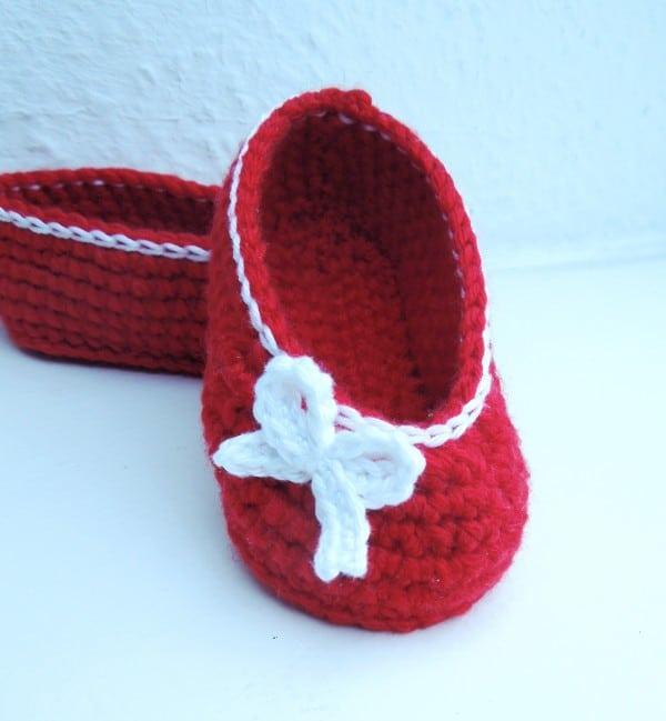 Rote Ballerinas ...
