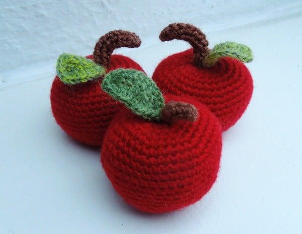 Süße Äpfel ...