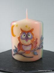 Eulen Kerze Nachteule DW 318