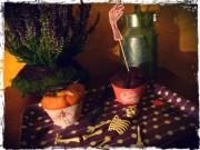 Halloween Manschette für Muffins