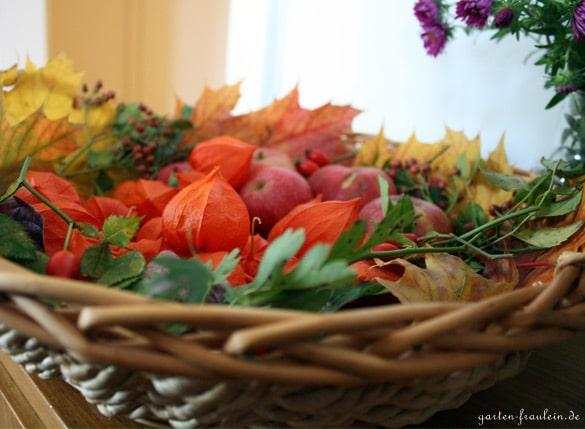 Schnittmuster Herbstdeko : Herbstdeko mit Lampionblumen - Handmade ...