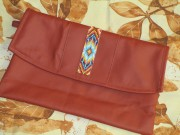 DIY-Clutch mit Native Beadwork