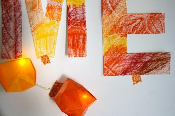 Herbstliches Welcome-Banner
