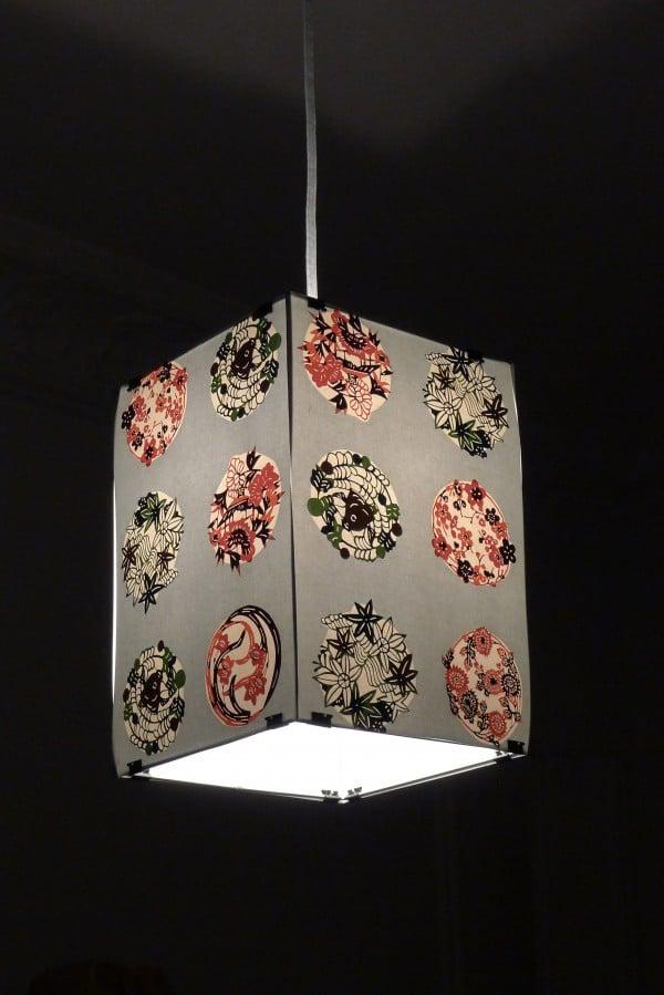 japanische papierlampe handmade kultur. Black Bedroom Furniture Sets. Home Design Ideas