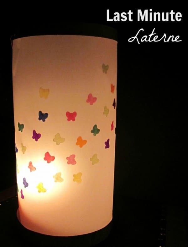 Schmetterlings Laterne