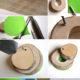 Schmuckkästchen aus Baumscheiben
