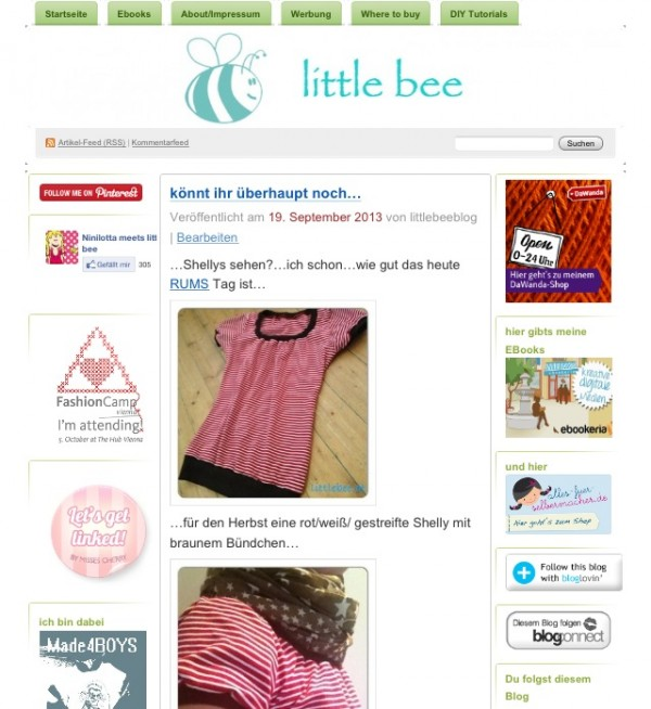 littlebee.at - Kids, Food & DIY