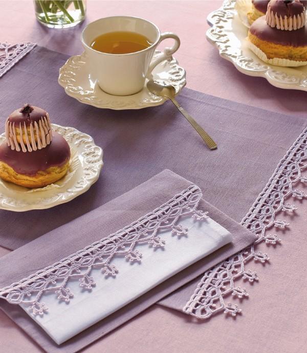 Häkelborte Für Tischsets Handmade Kultur