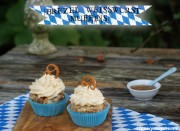 Brezel-Weißwurst-Muffins
