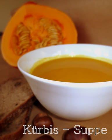 Heute gibt's Kürbissuppe