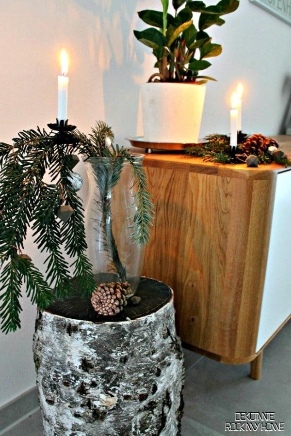 Diy beton diamanten mit kupfer handmade kultur - Tannenbaumschmuck basteln mit kindern ...
