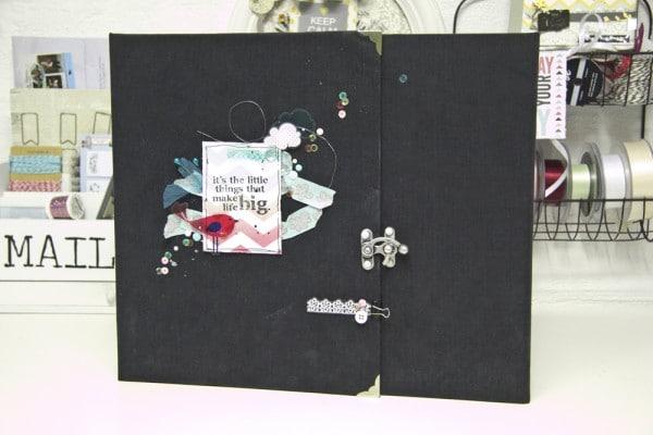 scrapbookalbum selber machen handmade kultur. Black Bedroom Furniture Sets. Home Design Ideas