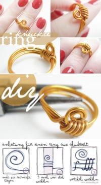 [diy] Ring aus Draht