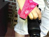 Fotoanleitung Kameragurt-Überwurf