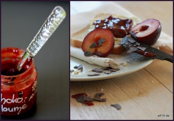Schoko-Pflaumen Marmelade