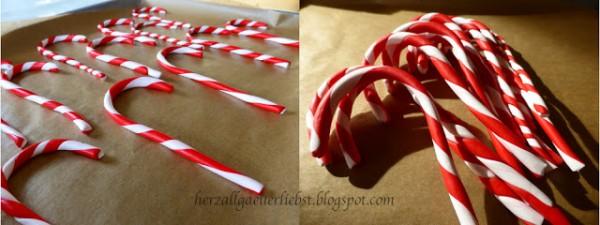 Tolle Weihnachtsdeko Zuckerstangen Handmade Kultur