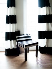 vorhang diy anleitungen bei handmade kultur. Black Bedroom Furniture Sets. Home Design Ideas