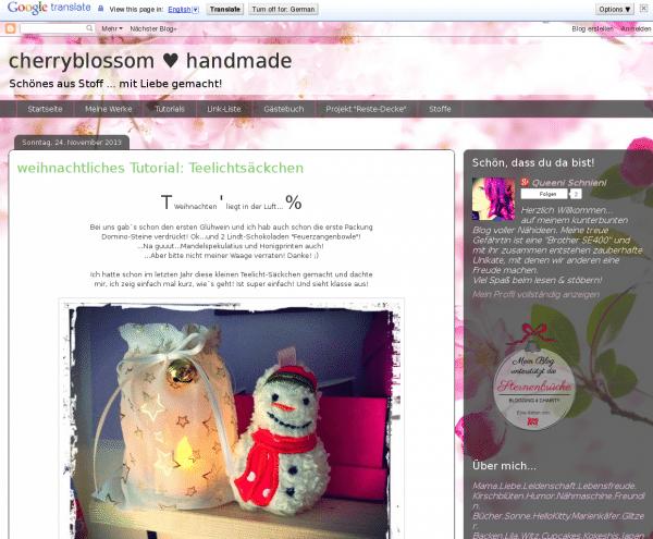 cherryblossom ♥ handmade