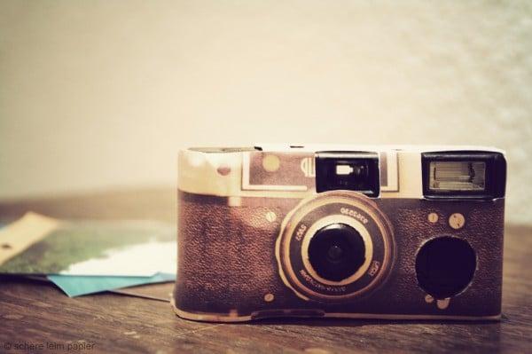 DIY Vintage-Einwegkamera