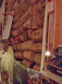 Pinnwand aus Weinkorken