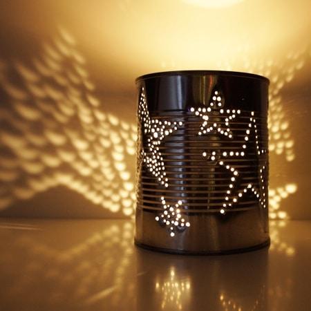 dosenlaterne upcycling konserve handmade kultur. Black Bedroom Furniture Sets. Home Design Ideas