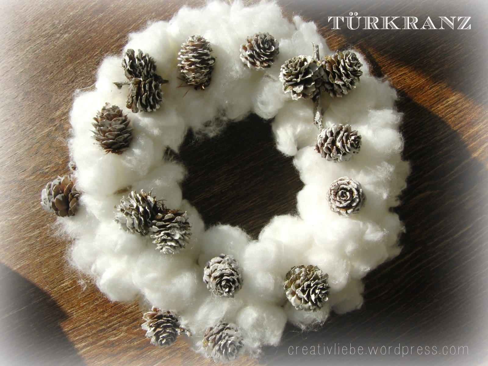 Türkranz Für Den Winter
