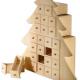 Weihnachtskalender aus Holz