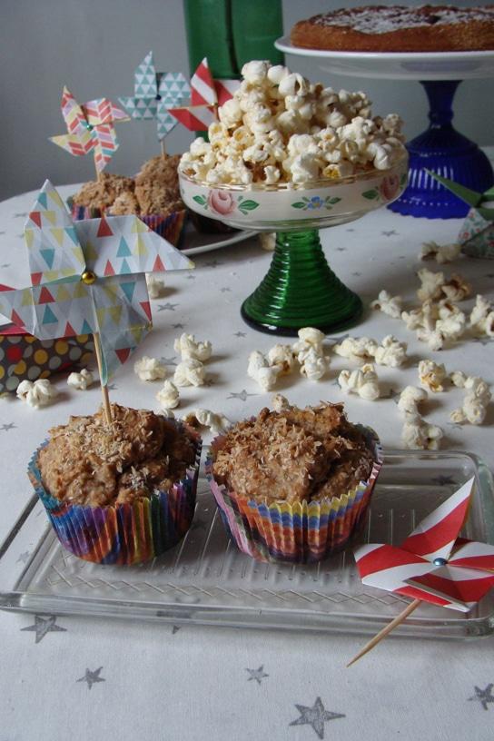 Kleine Windmühlen für Muffins, Cupcakes und Co.