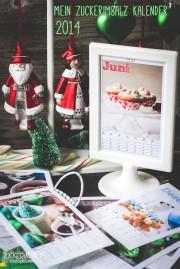 Mein Zuckerimsalz Kalender 2014