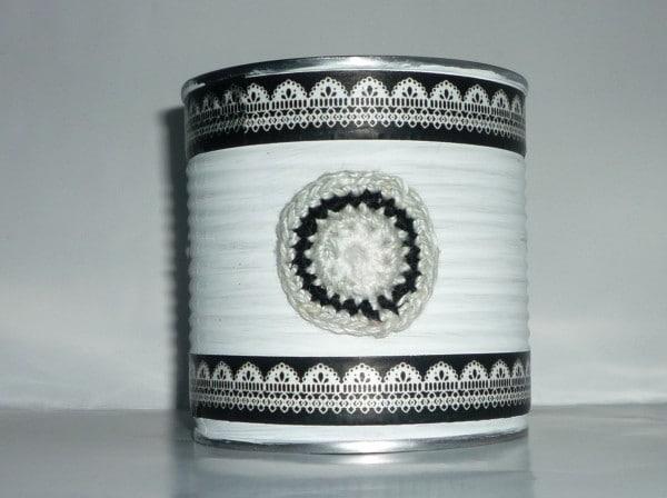 Konservendosen Upcycling mit Washi Tape
