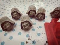 Geschenkidee für Star Wars-Fans: Darth Vader und Stormtrooper Möbelknöpfe
