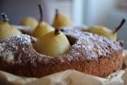 Saftiger Schokoladen-Birnenkuchen mit Gewürzen